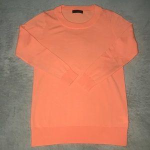 Peach Quarter-sleeve Top